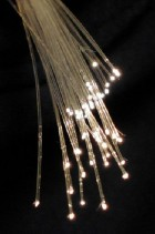 Optical fibers (credit: Wikimedia Commons)