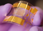 Advanced flexible transistor developed at UW-Madison (photo credit: Jung-Hun Seo, University at Buffalo, State University of New York)