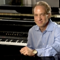 Ray Kurzweil (with the Kurzweil Model 150 electronic piano) Circa 2003