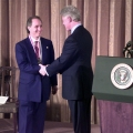 Ray Kurzweil receiving the National Medal of Technology