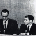 Steve Allen and Ray Kurzweil (age 16) on