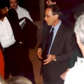 Ray Kurzweil at the 8th Annual U.S. Patent and Trademark Office Independent Inventors Conference in Philadelphia, circa November, 2003