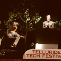Ray Kurzweil being honored at the The Fourth Annual Telluride Tech Festival