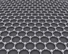 Graphene is an atomic-scale honeycomb lattice made of carbon atoms (credit: Wikimedia Commons)