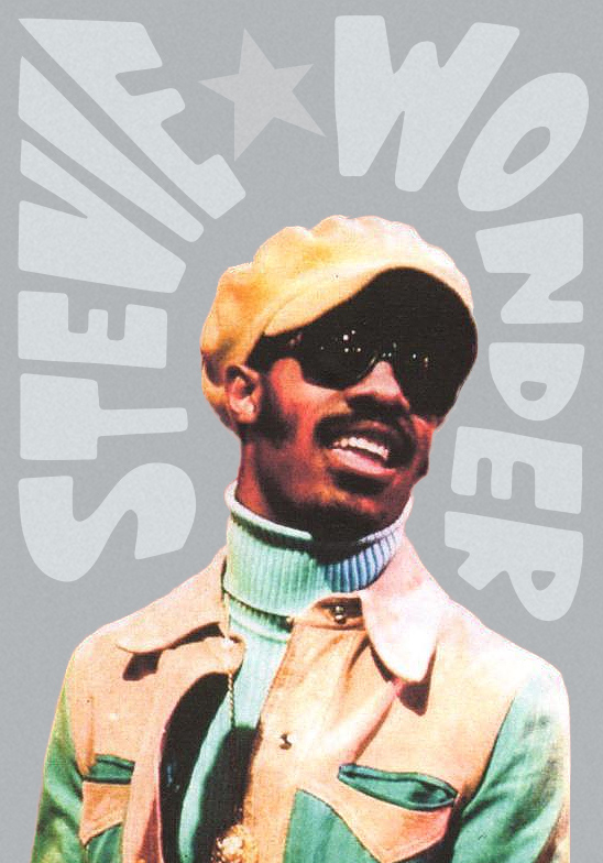 hande made - art - Stevie Wonder - no. 4