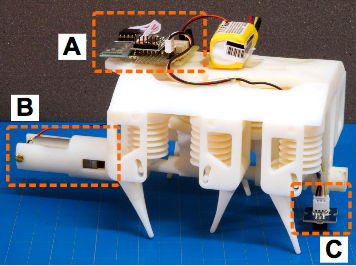 MIT AI Lab 3D-prints first mobile robot made of solids and