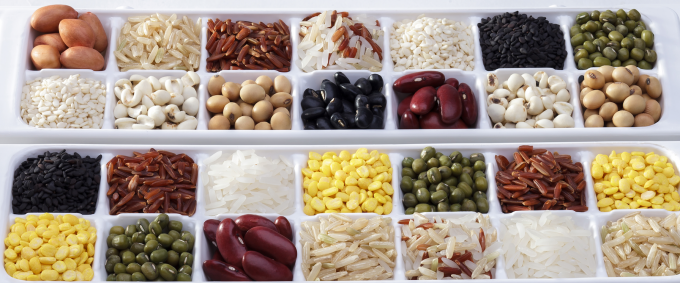 Some high-protein plant-based foods (credit: iStock)