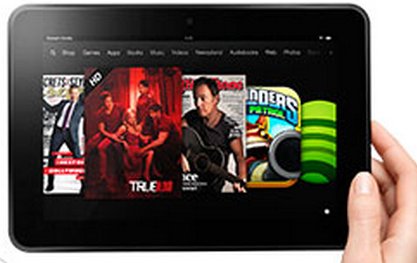 Kindle Fire HD (credit: Amazon)