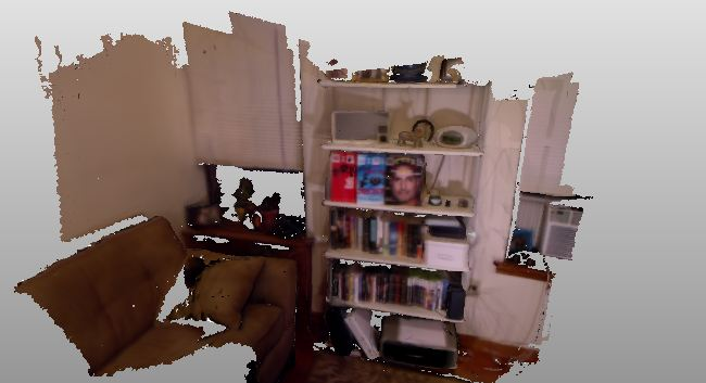Scanning your home with kinect could improve 3D robot vision