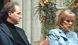 Judy Woodruff interviews Ray Kurzweil at Washington National Cathedral