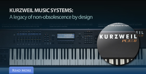 Kurzweil Music Systems: A legacy of non-obsolescence by design
