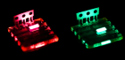 LEDs made from perovskite (credit: Zhi-Kuang Tan)