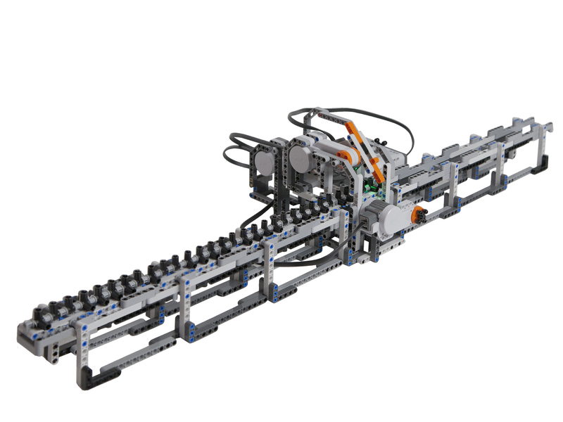 A Turing machine built using LEGO Mindstorms | Kurzweil