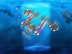 Rice University scientists have created light-driven, single-molecule submersibles that contain just 244 atoms (credit: Loïc Samuel/Rice University)