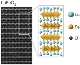 New magnetoelectric multiferroic material achieves room-temperature multiferroic properties at room temperature (credit: Julia A. Mundy/Nature)
