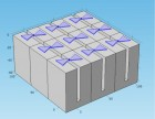 A schematic drawing shows a metamaterial surface with bow-tie antennas (credit: Won Park/University of Colorado)