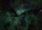 A small section of the Milky Way photo showing Eta Carinae (credit: Lehrstuhl für Astrophysik, RUB)