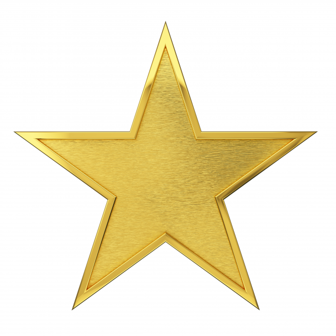 photo - gold star - no. 1