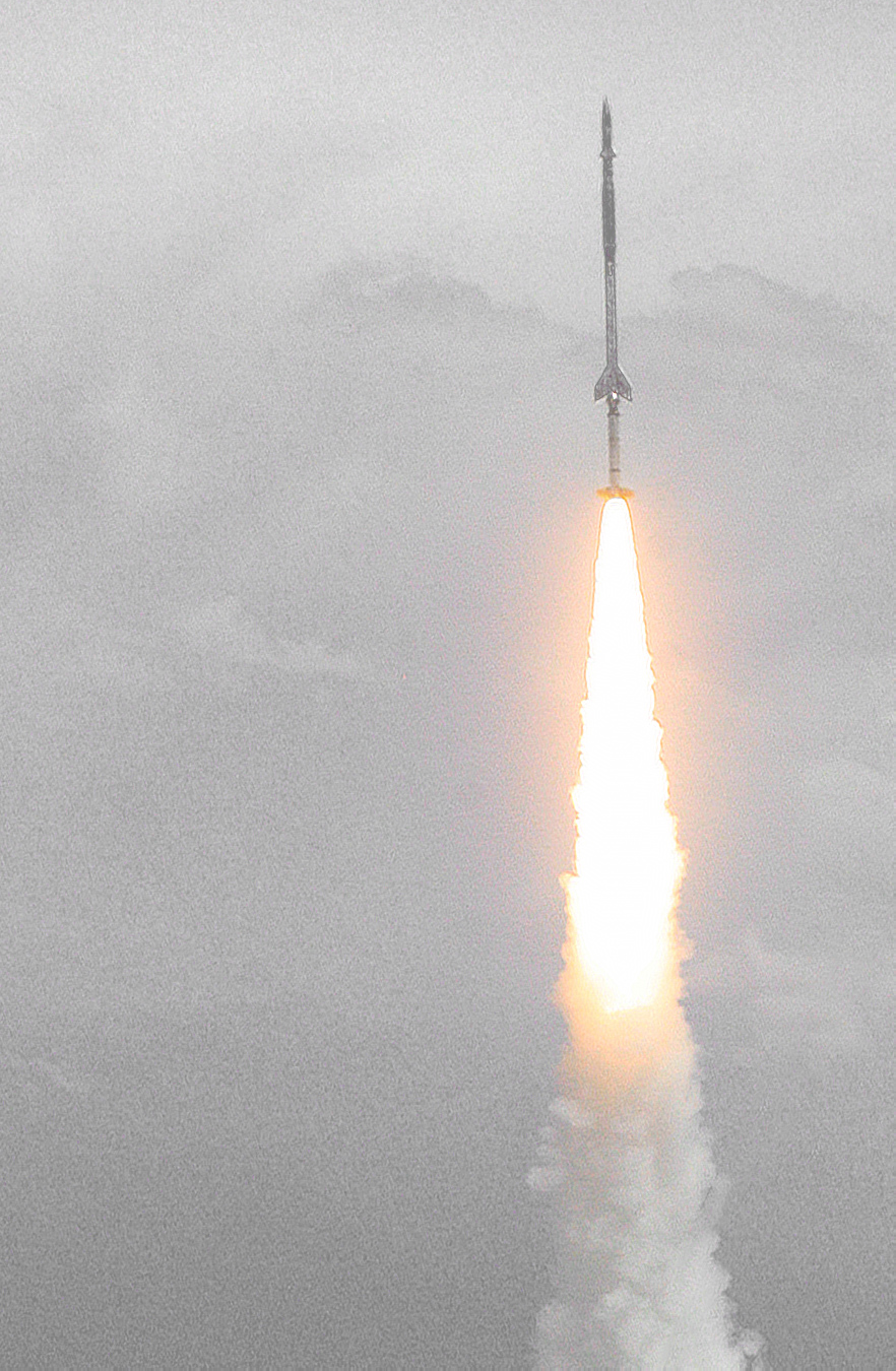 digest | Ship without Sailors: world's first weather rocket