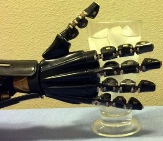 robotic hand with touch sensors ft