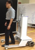 Robotic walker (credit: NUS)