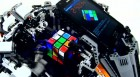 A smartphone-powered robot solved Rubik's cube
