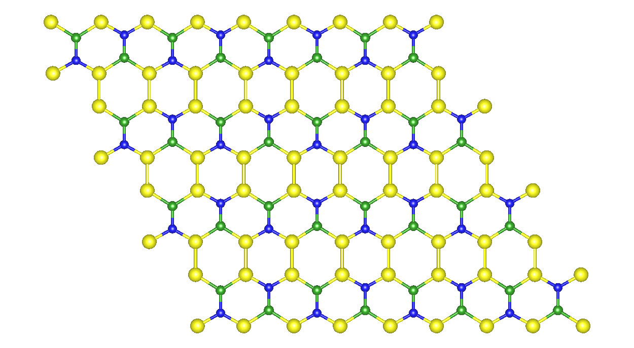 New 2D material could upstage graphene