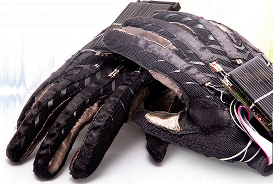 sign language glove Us inventors have designed a pair of gloves, called 'signaloud', which translate the gestures of sign language to spoken english the gloves (pictured) use embedded.