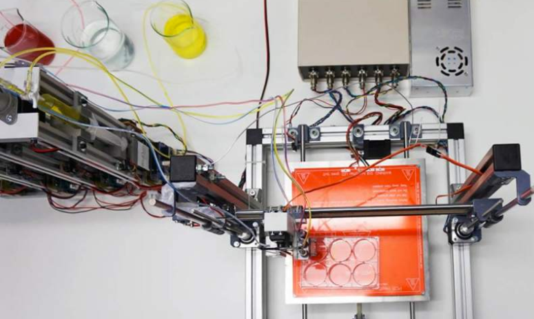 A 3D bioprinter that prints fully functional human skin