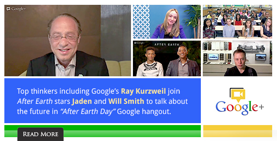 Top thinkers including Google's Ray Kurzweil join After Earth stars Jaden and Will Smith to talk about the future.