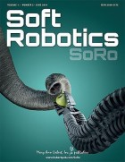 Soft Robotics, a peer-reviewed journal published quarterly online with Open Access options and in print, combines advances in biomedical engineering, biomechanics, mathematical modeling, biopolymer chemistry, computer science, and tissue engineering to present new approaches to the creation of robotic technology and devices that can undergo dramatic changes in shape and size in order to adapt to various environments. Led by Editor-in-Chief Barry A. Trimmer, PhD and a distinguished team of Associate Editors, the Journal provides the latest research and developments on topics such as soft material creation, characterization, and modeling; flexible and degradable electronics; soft actuators and sensors; control and simulation of highly deformable structures; biomechanics and control of soft animals and tissues; biohybrid devices and living machines; and design and fabrication of conformable machines. Tables of content and a sample issue can be viewed on the Soft Robotics website. (Credit: Mary Ann Liebert, Inc., publishers)
