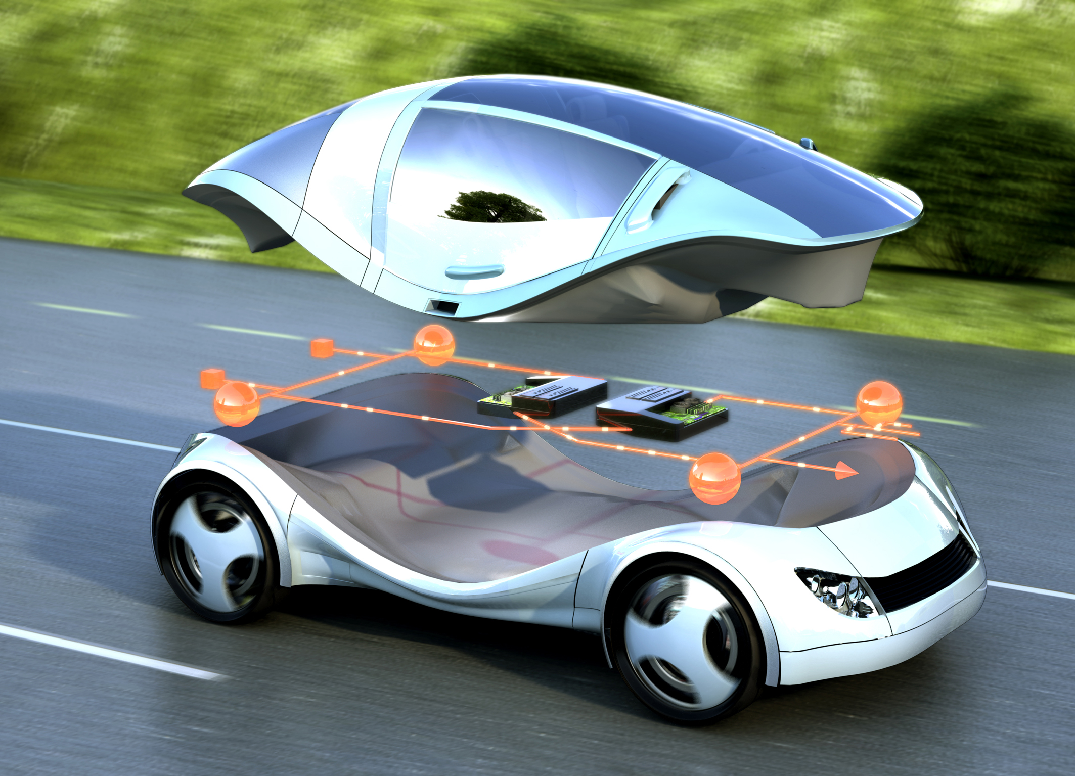 FREE technology in cars Essay
