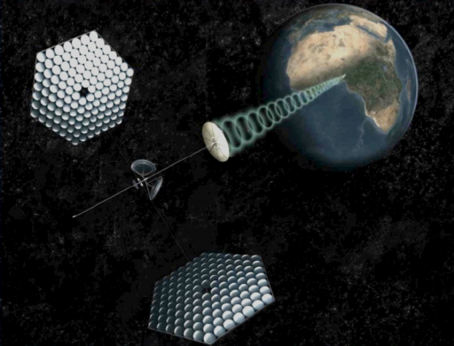 Space solar power satellite (credit: SpaceWorks Engineering, Inc./Spaceworks Commercial)