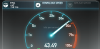Speed test (credit: Speedtest.net)