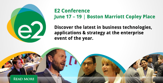 E2 Conference. June 17 - 19, Boston, Marriott Copley Place