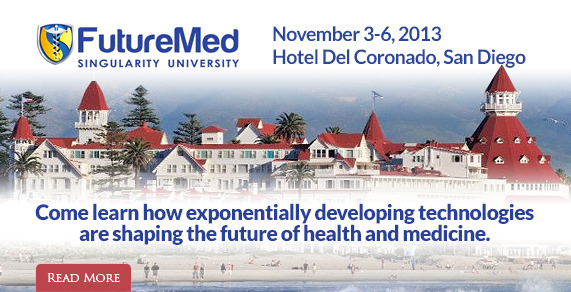 Futuremed 2013. At Hotel Del Coronado, San Diego, CA.