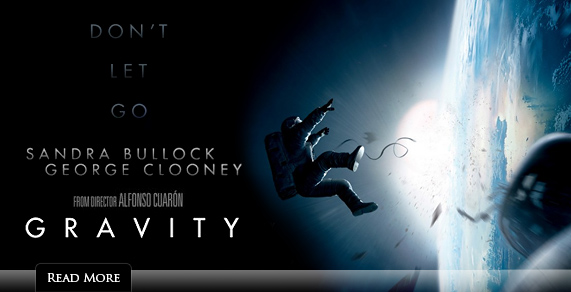 Gravity from director Alfonso Cuaron.