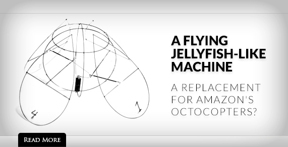 A Flying Jellyfish Machine.