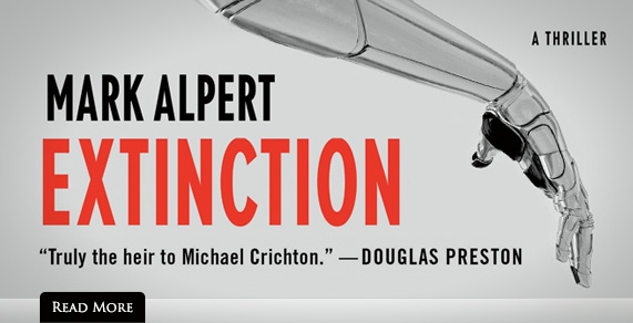 Extinction: A Thriller. By Mark Alpert.