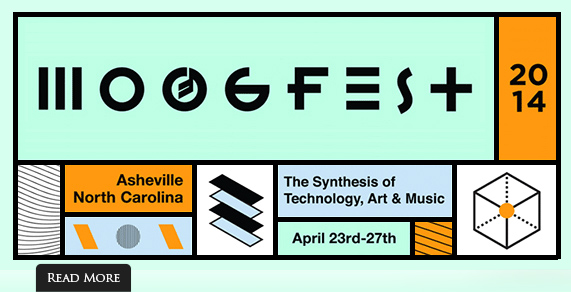 Moogfest 2014. April 23-27, Asheville, North Carolina.