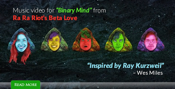 Music video for 'Binary Mind' from Ra Ra Riot's Beta Love