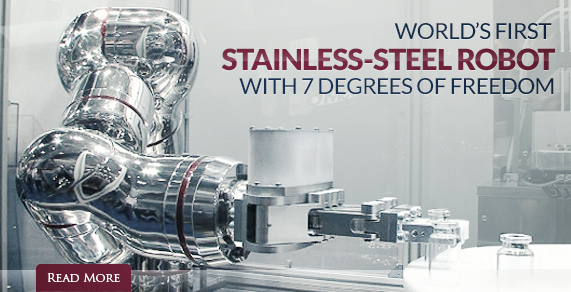 World's First Stainless-Steel Robot.