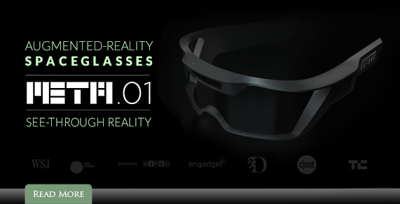 Augmented Reality SpaceGlasses.