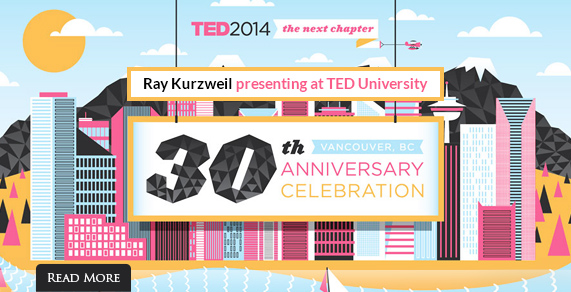 TED 2014: Ray Kurzweil at TED University