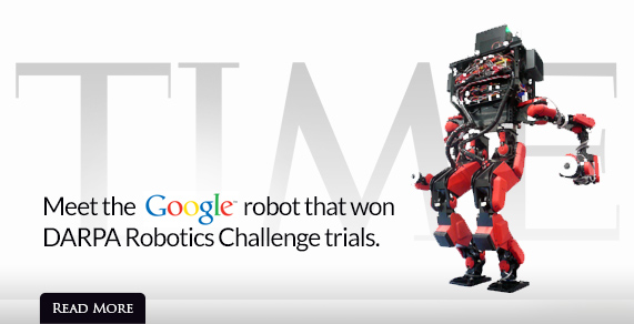 Meet the Google robot that won DARPA Robotics Challenge trials.