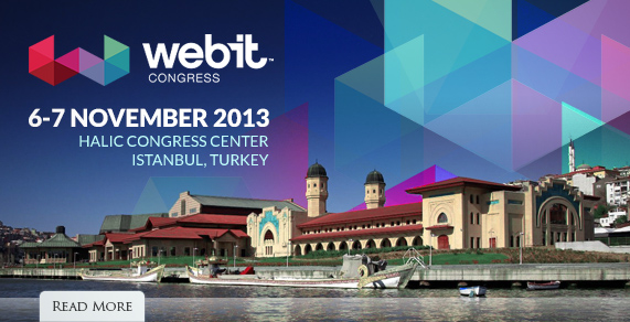 webit congress. 6-7 November 2013.