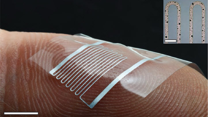 Stretchable electronics that can quadruple in length « Kurzweil