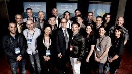 Singularity University's inaugural Executive Program participants, with Ray Kurzweil, and Peter Diamandis