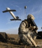 The Switchblade is a self-guided cruise missile designed to fit into a soldiers rucksack (credit: AeroVironment)