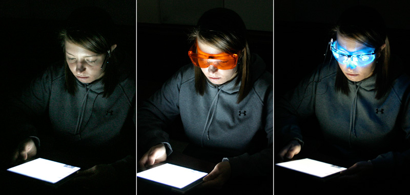 How Lighting Can Affect Your Wedding: Light From Self-luminous Tablet Computers Can Affect